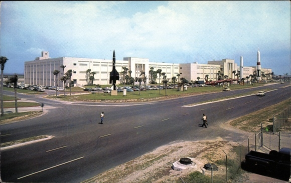 Ak San Jose Kalifornien USA, Moffett Field, US Naval Air Station, Rakete