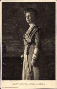 Ak Großherzogin Hilda von Baden, Ehefrau Großherzog Friedrich II. von Baden