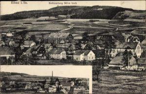 Ak Eibau Kottmar in der Oberlausitz, Stadtpanorama, Kottmarberg