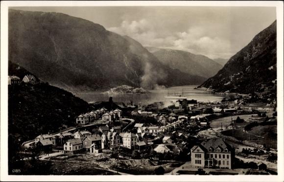 Ak Odda Norwegen, Hardangerfjord, Fähre