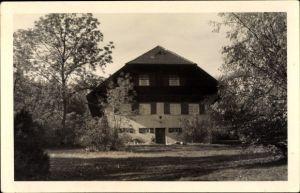 Ak Bad Überkingen Baden Württemberg, Blick auf das Wasserberghaus