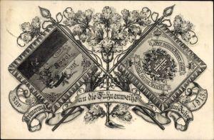 Ak Assel Drochtersen in Niedersachsen, Fahnenweihe 1913, Turnverein