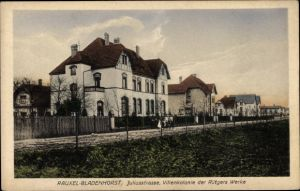 Ak Bladenhorst Castrop Rauxel im Ruhrgebiet, Juliusstraße, Villenkolonie der Rütgers Werke