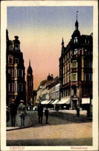 Ak Krefeld am Niederrhein, Geschäfte in der Rheinstraße