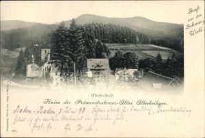 Ak Baden Baden im Stadtkreis Baden Württemberg, Ruine der Prämonstratenser Abtei Allerheiligen