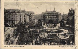 Ak Berlin Schöneberg, Viktoria Luise Platz, Parkanlagen