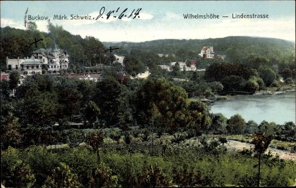 Ak Buckow in der Märkischen Schweiz, Wilhelmshöhe, Lindenstraße