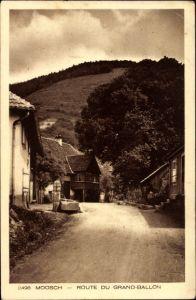 Ak Moosch Elsaß Elsass Haut Rhin, Route du Grand Ballon