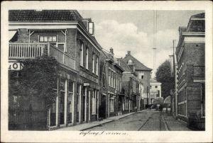 Ak Overveen Nordholland, Zijlweg, Straßenpartie mit Wohnhäusern, Cafe Ruimzicht