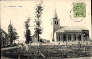 Ak Roosteren Limburg, Kerk, Blick auf die Kirche