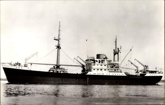 Ak Frachtschiff, type MV Van Cloon, Van Neck, Van Noort, KPM Line