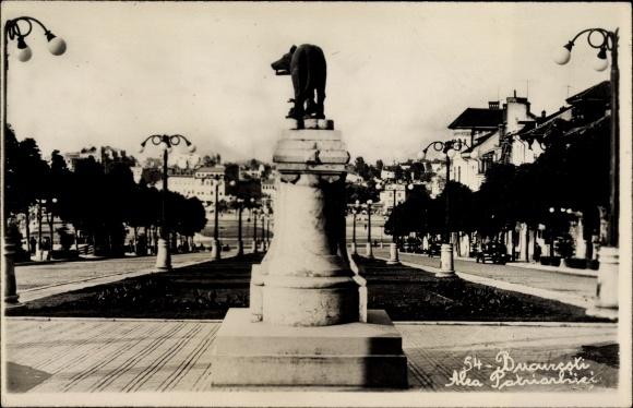 Foto Ak București Bukarest Rumänien, Alea Patriarhiei, Monumentul
