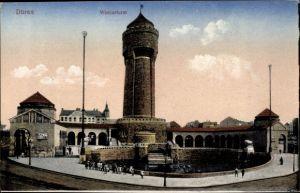 Ak Düren in Nordrhein Westfalen, Blick auf den Wasserturm
