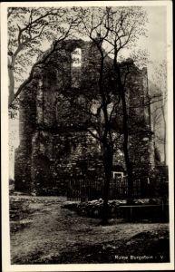 Ak Burgstein Weischlitz im Vogtland, Blick zur Ruine