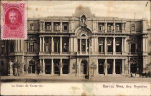 Ak Buenos Aires Argentinien, La Bolsa de Comercio