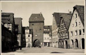 Ak Hersbruck im Nürnberger Land Bayern, Partie am Nürnberger Tor, Handlung von Ludwig Cang