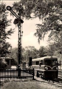 Ak Dresden Zentrum Altstadt, 20 Jahre Pioniereisenbahn, Liliputbahn, Großer Garten