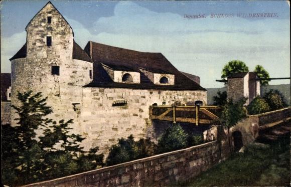 Ak Dietfurt An Der Altmühl In Der Oberpfalz Blick Auf Schloss
