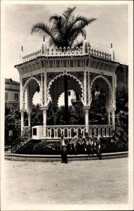 Ak Blida Algerien, Le Kiosque de la Place d'Armes, Pavillon