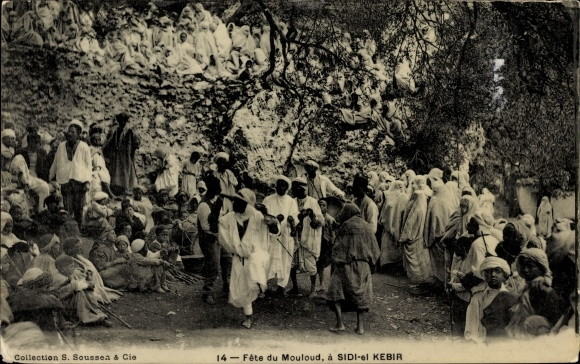 Ak Sidi el Kebir Marokko, Fête du Mouloud, Festlichkeiten