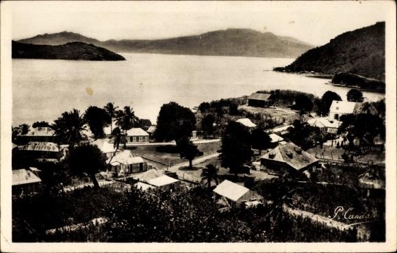 Ak Guadeloupe, Saintes, Terre de Haut, La Passe de la Baleine, La Soufriere
