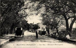 Ak Majunga Madagaskar, Une Rue, Bureaux Municipaux