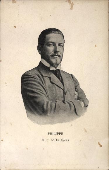 Ak Louis Philippe Albert d'Orléans, comte de Paris, Enkel des Königs Ludwig Philipp