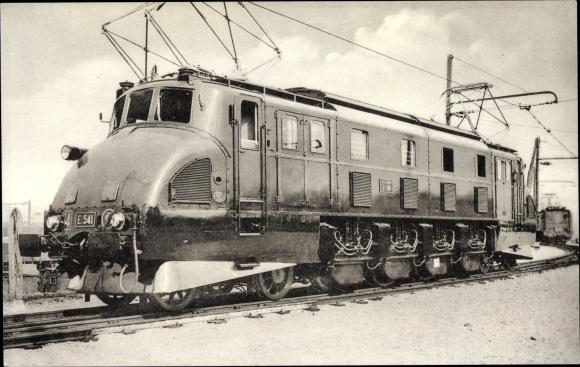 Ak Französische Eisenbahn, Chemin de fer, Locomotives du Sud Ouest, Machine E 541