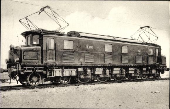 Ak Französische Eisenbahn, Chemin de fer, Locomotives du Sud Ouest, Machine E 702