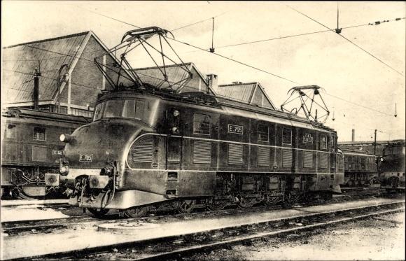 Ak Französische Eisenbahn, Chemin de fer, Locomotives du Sud Ouest, Machine E 705