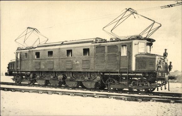 Ak Französische Eisenbahn, Chemin de fer, Locomotives du Sud Ouest, Machine E 2 D 2 502