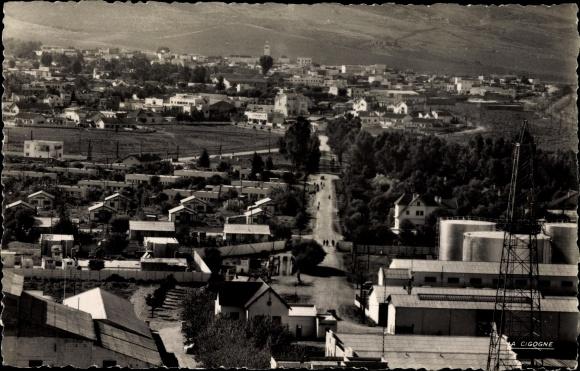 Ak Sidi Kacem Petit Jean Marokko, Vue générale, Blick auf den Ort