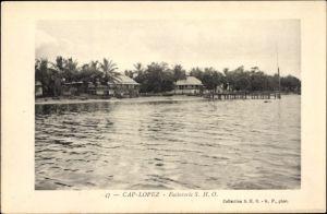 Ak Cap Lopez Gabun, Factorerie S. H. O., Küstenpartie, Strand