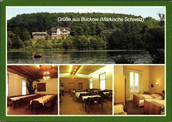 Ak Buckow in der Märkischen Schweiz, Erholungsheim Wilhelmshöhe, Haus der Inneren Mission, Inneres
