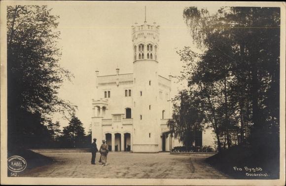 Ak Bygdö Bygdøy Oslo Norwegen, Oscarshal, Lustschloss des Königs Oskar I.