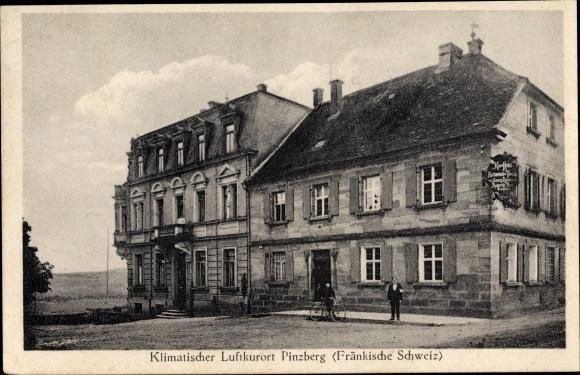 Ak Pinzberg in Oberfranken, Kurhotel zur Terrasse, Bes. Zametzer Thurn