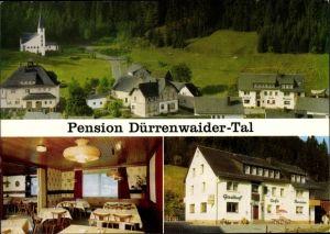 Ak Dürrenwaid Geroldsgrün in Oberfranken, Gasthof und Pension Dürrenwaider Tal von Paul Hänel