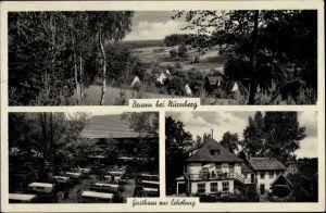 Ak Brunn Nürnberg in Mittelfranken Bayern, Gasthaus und Pension zur Erholung, Bes. Leonh. Linhardt