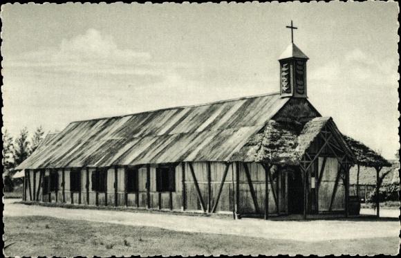 Ak Tanambao Marivorahona Madagaskar, L'Eglise, Blick zur Kirche