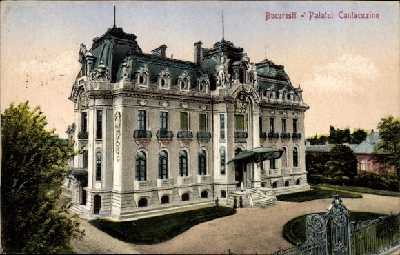 Ak București Bukarest Rumänien, Palatul Cantacuzino