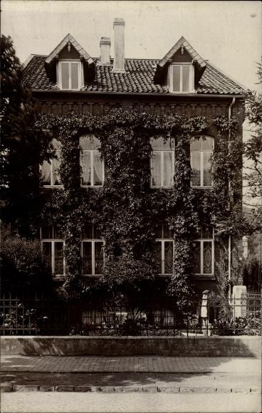 Foto Ak Hameln in Niedersachsen, Ansicht eines Hauses