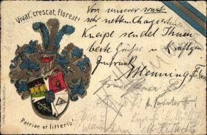 Studentika Litho Vivat, crescat, floreat, Patriae et litteris