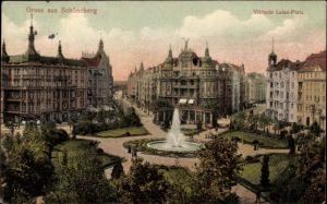 Ak Berlin Schöneberg, Blick auf den Viktoria Luise Platz
