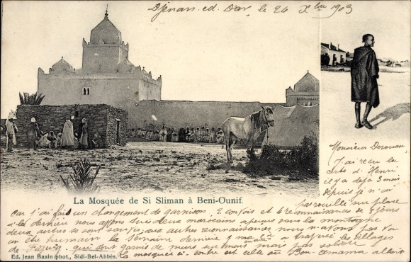 Ak Beni Ounif Algerien, La Mosquee de Si Sliman, Moschee, Algerier