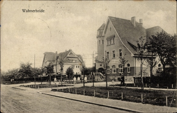 Ak Wahn Köln Nordrhein Westfalen, Wahner Heide, Truppenübungsplatz, Gebäude