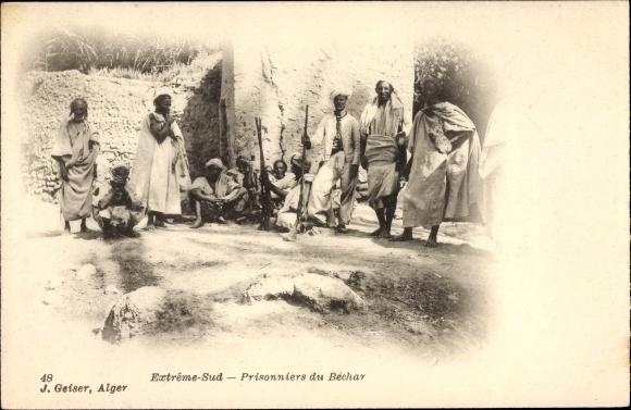 Ak Algerien, Extreme Sud, Prisonniers du Béchar, Gefangene