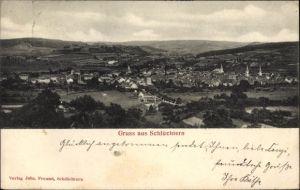 Ak Schlüchtern im Main Kinzig Kreis, Blick auf Ortschaft und Umgebung