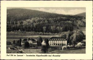Ak Bad Orb im Main Kinzig Kreis Hessen, Sanatorium Küppelsmühle und Annenhof