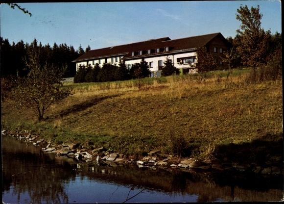 Ak Schotten im Vogelsbergkreis Hessen, Haus der Jugend, Hoherodskopf