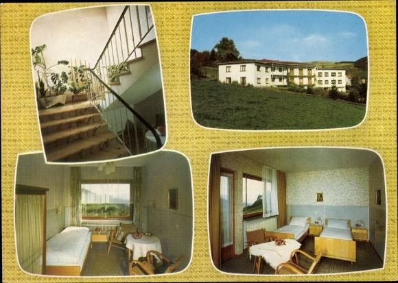 Ak Obernhausen Gersfeld in der Rhön in Hessen, Sanatorium an der Wasserkuppe